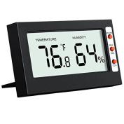 Indoor Digital Thermometer Hygrometer, Oria®temperatu
