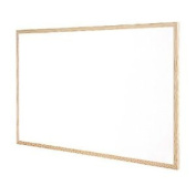 Q-connect Wooden Frame 400 X 600 Mm Whiteboard