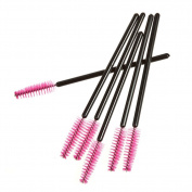 Direct Store Beauty Makeup Tool Disposable Eyebrow Comb Eyelash Brush Colour Long Rod Spiral Roll Eyelash