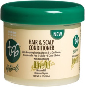 TCB Naturals Hair & Scalp Conditioner with Olive Oil 296 ml Jar by TCB