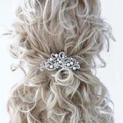 Handmadejewelrylady Bridal Women Vintage Wedding Party Crystal Rhinestone Hair Comb Hair Accessories Wedding Headpiece