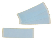 Pack of 200 Strips Blue Liner Tape for Extensions & Two Hair