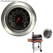 Itian Stainless Steel Bbq Grill Smoker Thermometer Gauge Barbecue Cooking Tools