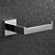 Sus304 Stainless Steel Toilet Paper Holder Wall Mount Modern Polished R019