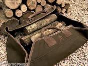 Heavy Duty Prestige Quality Large Log Sack / Log Carrier.