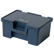B#raaco Toolbox Storage Cabinet Box With Carrying Handle Solid 1 Blue 136754
