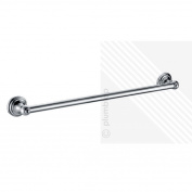 Traditional Bathroom Single Towel Rail | Wall Mounted Accessory In Chrome