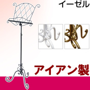 Easel made of iron antique gentle curve stand music Typhoon