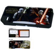 new admitted 2017 item Star Wars double pencil case