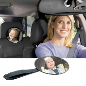 Ardisle Large Wide View Rear Baby Child Car Seat Safety Mirror Adjustable Headrest Mount