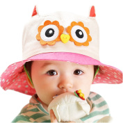 Gemini Fairy Sun Protection Hat Bucket Cap with Wide Brim for Lovely Baby (1-4 year old)