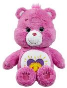 Care Bears Shine Bright Bear Medium Plush with DVD