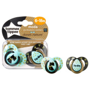Tommee Tippee Baby Soother Dummy Pacifier Nipple 0-6m / 6-18m 2 Pack Boy / Girl
