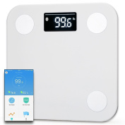 Docooler YUNMAI mini Smart Scale Body Fat Weighting Digital Scale Body Composition Monitor BT4.0 with Extra Large Display FREE APP for Android 4.3 iOS 8.0 Smartphones