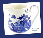 New! Vintage/retro Style Blue Willow Pattern Small Milk Jug - A Firm Favourite!