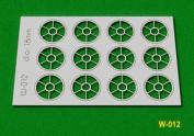 W-012 Proses Oo - 12 Pcs 18mm Diameter Round Windows