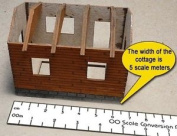 Proses Pr-cr-76m New 1:76 Scale Conversion Ruler (metric) Oo