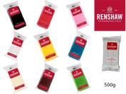 Renshaw Ready To Roll Icing Fondant Cake Making Regalice Sugarpaste 500g Various