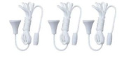 3 Replacement Spare Pull Cord String Bathroom Shower Light Ceiling Switch Acorn