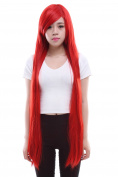 Lemail wig 100cm Long Red Tenghsieh Straight Cosplay Wig Ml41