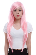 75cm Long Pink My Little Pony Fluttershy Straight Cosplay Wig Cw109