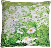 Outdoor Xl Beanbag With Flower Design