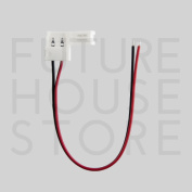 5050 Led Strip Connexion Wire 10mm Easy Quick Solder-less Click Connector Clip