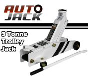 Autojack Tj300 3 Tonne Heavy Duty Hydraulic Garage Floor Trolley Jack Car Van Lift