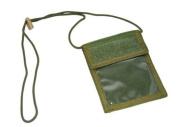 Flyye Neck ID Wallet Olive Drab 1000D Cordura FY-BG-A003-OD