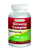 Best Naturals Ginseng Complex 1000 mg 60 Capsules