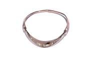 Pamela Love Women's 14ct Rose Gold Plated and Bronze Calcite Inlay Tension Collar of Length 15cm