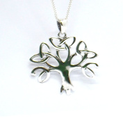 Celtic Knot Tree of Life Sterling Silver Pendant