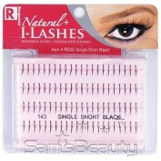 Natural+ I-Lashes Short Black