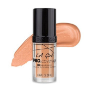 (6 Pack) L.A. Girl Pro Coverage Illuminating Foundation - Porcelain