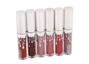 Godhl 6 Colours Waterproof Matte Lip Gloss Lipstick Makeup Liquid Lipstick Beauty Lip Gloss