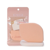 Yousha 2Pcs Makeup Sponge Blender Facial Foundation Sponge Beauty Flawless Powder Puffs