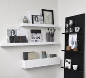 S'home Floating Wall Shelf 80 Cm In White
