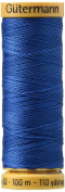 Natural Cotton Thread 110 Yards-Jay Blue