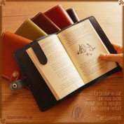 Love Hnads LH7091 Cowhide Leather Book Cover pure made in japan Book Sox