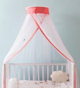 WUFENG Crib Mosquito Net Floor Style Child Mosquito Net Bed Canopy Curtain Bed Canopy Curtain