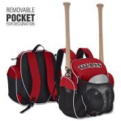 Champro Player's Pack, Scarlet, 23cm x 46cm x 46cm