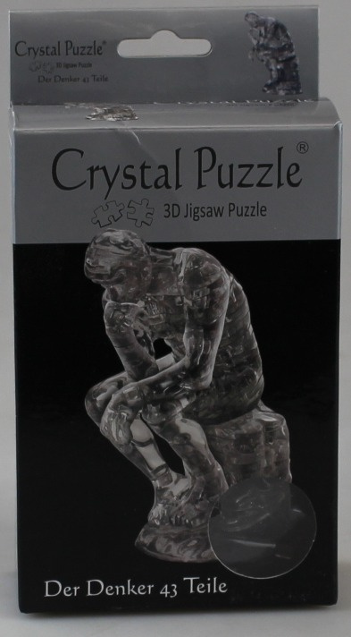 der Denker Puzzles & Geduldspiele 3D Kristall Puzzle