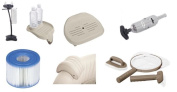 Intex Pure Spa Inflatable Hot Tub Spa Accessories Filters Head Rest Seat Rack Ho