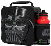 Thermal 3d Lunch Bag Box & Drink Bottle Set - Star Wars Avengers Cartoon