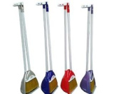 Strong Plastic Pyramid Garden Kitchen Long Handled Dustpan And Brush Choose Your