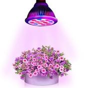Litom Grow Light, Growing Plant Lights 36w Led, 120 Degree Led Grow Light Bulbs