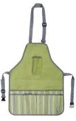 Esschert Design El040 75 X 46 X 1cm Textile Apron Stripes - Green
