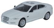 Oxford Die-cast - 1/76 Model - Jaguar Xf Saloon - Polaris White