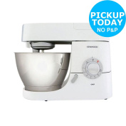 Kenwood Nmm715 Chef 1200w 6.7l Kitchen Machine - White :the Official Argos Store
