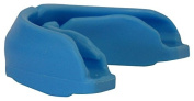 Amber Fight Gear Power Mouthpiece with Case Blue, Adult